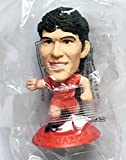 Sanz Luis Garcia MicroStars Sweden Series 16 figure - Liverpool Home Kit - Red Base MC10202 - similar to SoccerStarz
