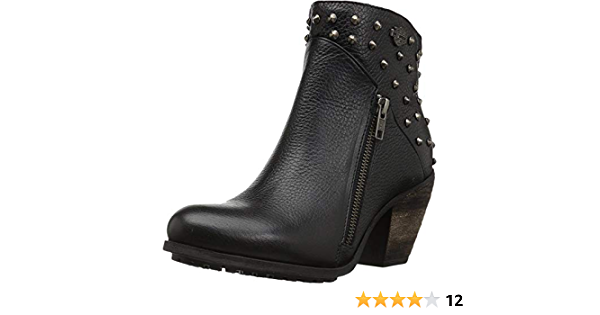 Details about  /Ladies Harley Davidson Wexford Heeled Ankle Boots