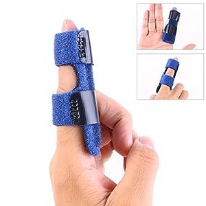 ROSENICE Finger Splint Finger Schiene für Finger Frakturen Support Schmerzlinderung