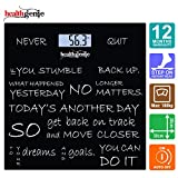 Best Bathroom Weighing Scales - Healthgenie HD-221 Digital Weighing Scale Never Quit (Black) Review