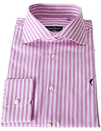 DOMENICO AMMENDOLA Camicia Gold in Cotone Doppio Ritorto, Regular Fit, Made in Italy