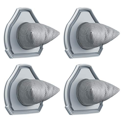4er-Set Ersatzfilter Filterset Staubsack Filter NUR für 4 Kpa Nass & Trocken Handstaubsauger von Holife, Staubsaugerfilter Staubfilter (GRAU) NICHT geeignet für andere Handstaubsauger