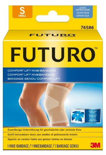 futuro bandagen FUTURO FUT76586 Comfort Knie-Bandage, beidseitig tragbar, Größe S, 30,5 – 36,8 cm