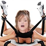 SM Bondageset LEMONDA BDSM Fesselset Bondage Adult Artikel SM Sexspielzeug Extrem Betten Fesseln mit Handschellen für Paare, Gays, Einsteiger und Erfahr