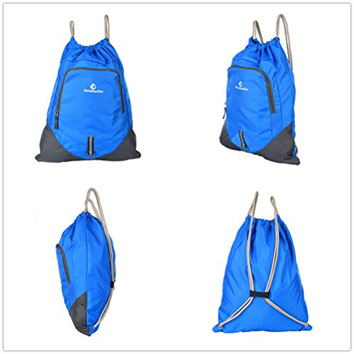 Fastar 12L unisex nylon sport all' aperto Borsa da trekking escursionismo campeggio zaino Zaino da viaggio Blu scuro