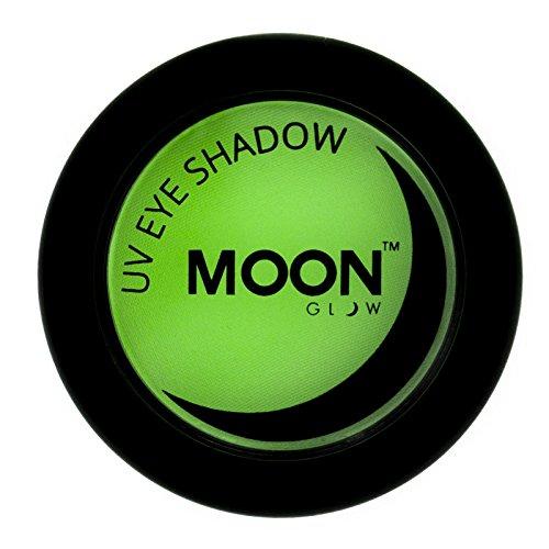 Moon Glow - UV Neon-UV-Lidschatten 3.5g Grün – ein spektakulär glühender Effekt bei UV- und...