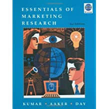 Essentials of Marketing Research [With CDROM]