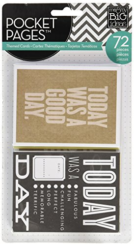 me-my-big-ideas-de-poche-papier-pages-sur-le-theme-cartes-a-7-today-10-x-15-cm