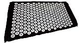 KEIN HERSTELLER Tapis d'acupression Shanti 65 x 41 cm Noir