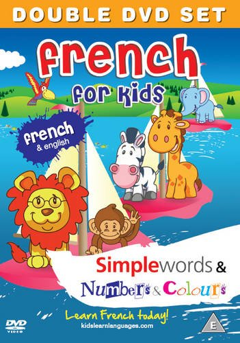 Preisvergleich Produktbild French for Kids DVD Set: Simple Words & Number and Colours 2011