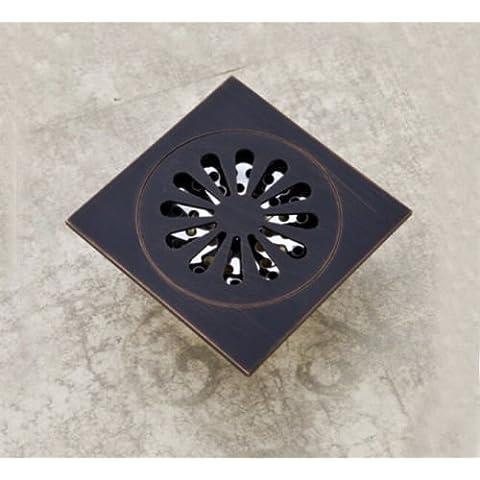 CAC Olio bronzo strofinato il pavimento del bagno grande pozzo