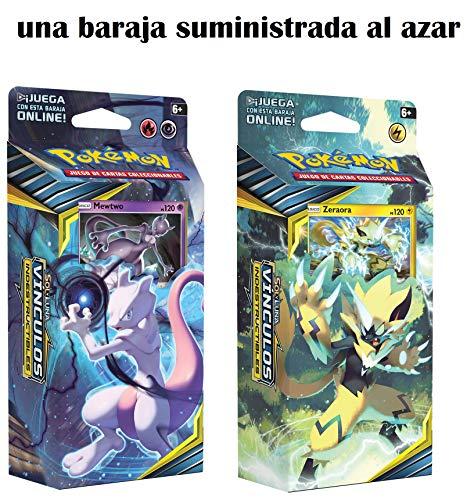 Pokemon JCC- Sol y Luna: Vínculos Indestructibles Baraja, Color (POSMUB01)