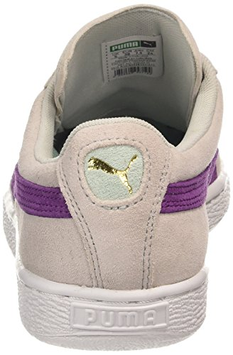 Puma Suede Classic Wn's - Zapatillas para mujer, glacier gray-grape juice 31, UK5, UK6 Glacier Gray/Grape Juice