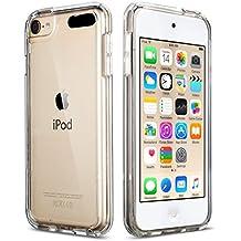Coque iPod Touch 5 6,ULAK iPod Coque [Clear Slim] Absorption des Chocs et Anti-Scratch Housse Etui Coque TPU Gel dur pour Apple iPod Touch 5/6e Génération