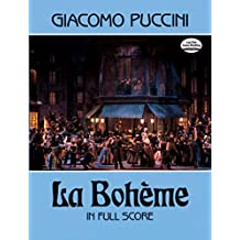 La Bohème in Full Score (Dover Music Scores)