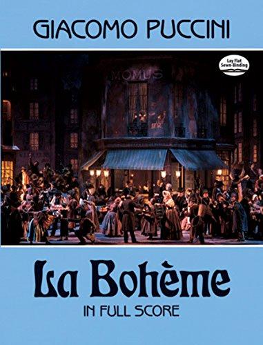 La Bohème in Full Score (Dover Music Scores)
