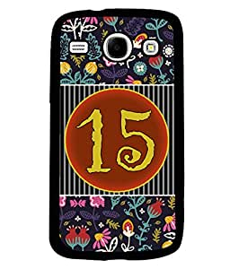 PrintVisa Metal Printed Numeric Designer Back Case Cover for Samsung Galaxy Core I8260/ I8262-D4765