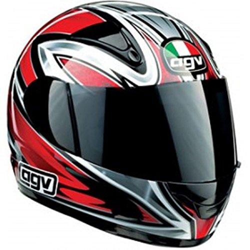 AGV - OFERTA, Casco integral GP1color blanco/rojo/negro, talla XS
