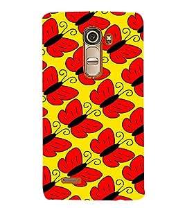 Fabcase catterpillar converted butterflies Designer Back Case Cover for LG G4 Mini :: LG G4c :: LG G4c H525N