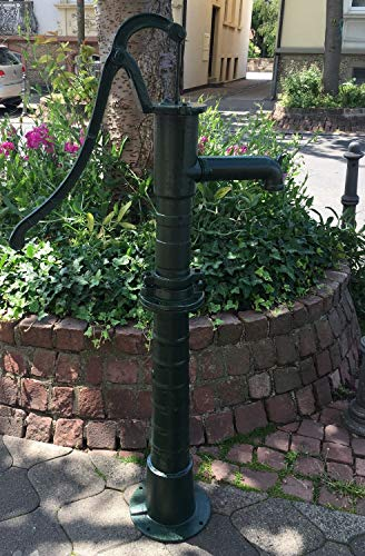 aubaho Schwengelpumpe + Ständer Gartenpumpe Handschwengelpumpe Wasserpumpe Handpumpe