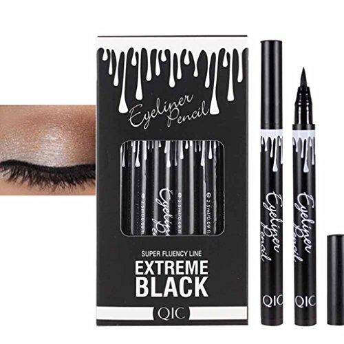 WYXlinik Damen Eye Liner Eyeliner Quick wasserdicht Make-up Eyeliner Pen (C)