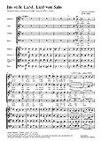Ins stille Land - SATB, 2 Violins, Viola, Cello/Bass - SCORE