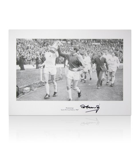 Pat-Jennings-Signed-Spurs-Print-1967-FA-Cup-Winning-Print