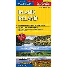 Carte de voyage Irlande 1 : 300 000