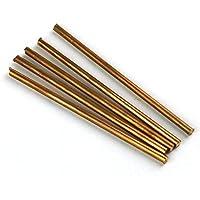 99,9% puro cobre Cu Metal Varillas Cilindro 5unidades, diámetro 4mm, longitud 100mm