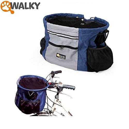 Camon walky basket trasportino cestino bici in nylon per for Trasportino per cani amazon