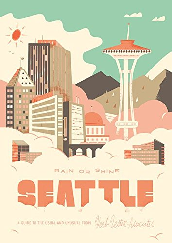 Seattle Rain Or Shine (Folded Map) /Anglais