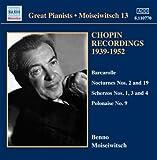 Chopin Recordings Vol.3 (Barcarolle/ Polonaise/ Nocturne/ Scherzo)
