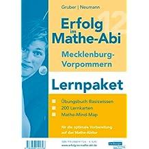 Erfolg im Mathe-Abi 2012 Mecklenburg-Vorpommern Lernpaket: Übungsbuch für das Basiswissen mit Mathe-Mind-Map sowie 200 Lernkarten