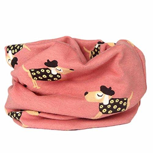 Sonnena Schals Baby Loopschal Schlauchschal Jungen Mädchen Karikatur Druck O-Ring Halstücher Baumwollschal Warme Schlauchschal Schals Kinderschal Babyschals