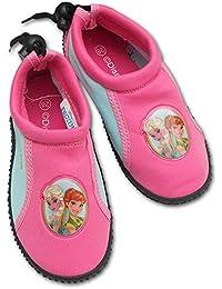 Disney Frozen-Zapatillas para playa inmersión fango deportes acuáticos-niña-Elsa y Ana-9439WD producto original