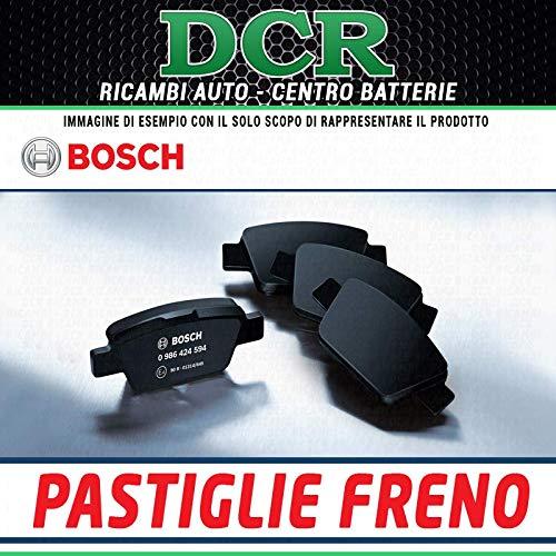 Bosch 0986424553gioco di 4piastrine di freno posteriore