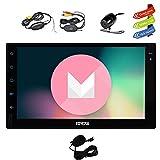EINCAR Quad-Core Android 6.0 Auto-Stereoanlage mit GPS Doppel-DIN-Navigation 7 Zoll Mehrere Full Touch Schirm-Träger-Radio Head Unit Unterstützung 1080P Video No-DVD WiFi OBD2 + Wireless Backup-K