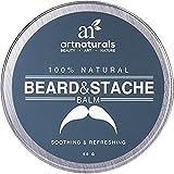 Art Naturals Bálsamo / Aceite / Cera / Acondicionador Sin Aclarado Para Barba Y Bigote 60 g. Acondicionador 100 % Natural Que Calma La Picazón.