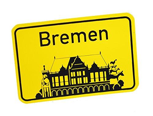 Preisvergleich Produktbild Stadtbummler 58040 Bremen Magnet Rathaus