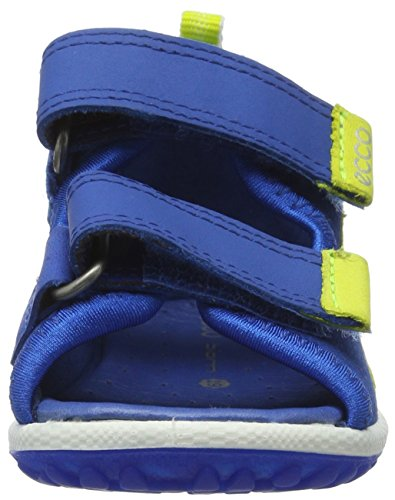 Ecco Lite 753, Chaussures Marche Bébé Garçon Bleu (50289Bermuda Blue/Bermuda B/Sky Blue)