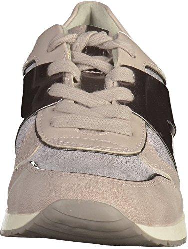 Tamaris1-23683-28 555 - Pantofole Donna Grau (Lavender Comb 555)