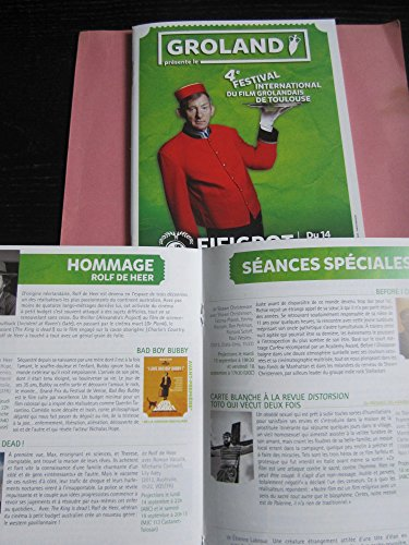 GROLAND Plaquette 50 Pages : 4ème Festival International Du Film Grolandais De Toulouse, Fifigrot-Groland, 2015