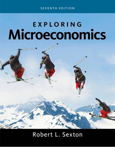 Exploring Microeconomics - Sexton  Robert - Paperback Book - New - 9781285859453