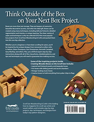 Creating Wooden Boxes On The Scroll Saw Best Of Scroll Saw
