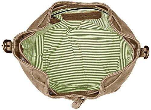 Timberland Damen Tb0m5391 Tornistertasche, 14x22x20 cm Beige (Croissant)