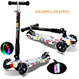Slow Forest Foldable Easy Carry Light Flash Bike Baby Swinging Slider Ride On Toy Scooter - Multi Color