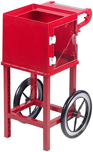 """Rosenstein & Söhne Zubehör zu Popcorn-Automaten: Rollwagen im Retro-Design für Popcorn-Maschine\""""Cinema\"""" &\""""Movie\"""", rot (Profi-Popcorn-Maschinen)"""