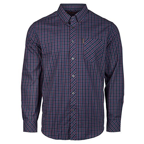 ben-sherman-shirt-house-check-long-sleeved-ma11123-xx-large-zinfandel