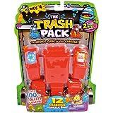 Giochi Preziosi 70681171 - Trash Pack No.4, 12 Figuren mit 6 Mülltonnen