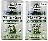 Organic India Wheatgrass Powder (100g) - Pack of 2